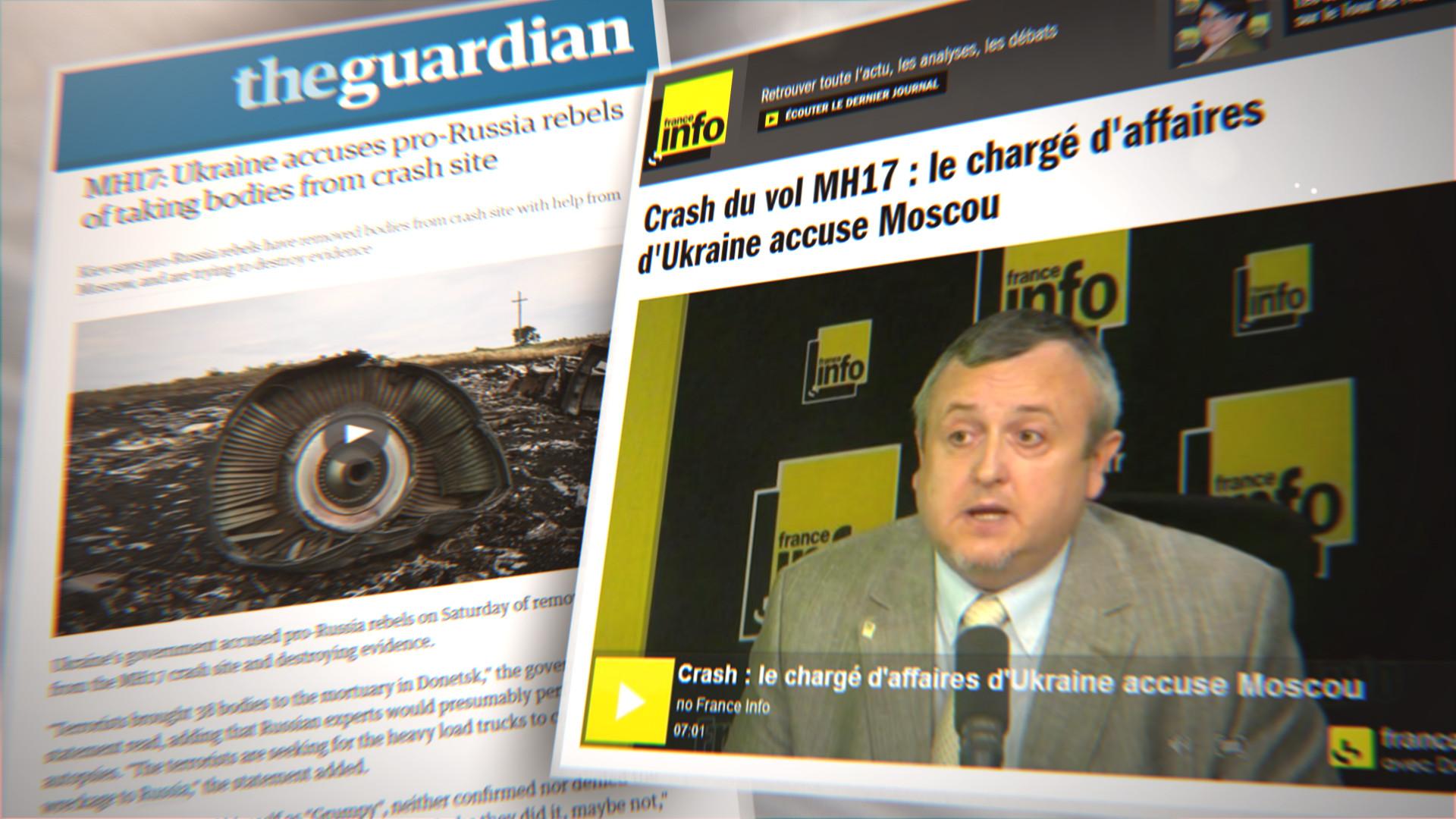 Crash du MH-17 : comment les médias ont diabolisé la Russie