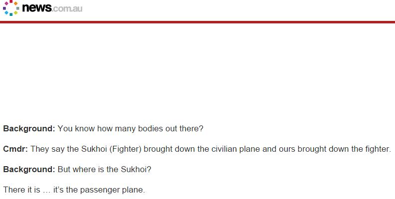 Vol MH17 : L'Australie diffuse une vidéo révélatrice des premières minutes après le drame