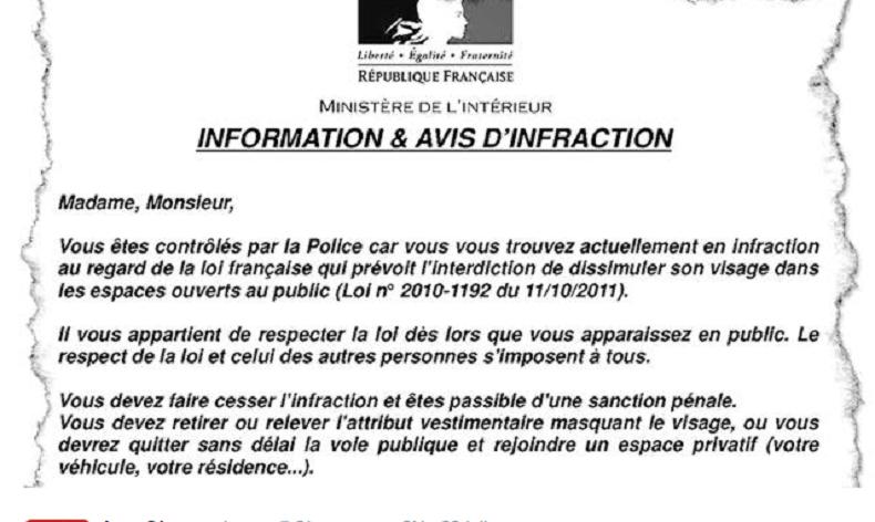 Capture du tract distribué par la police nationale d'Annecy (les Observateurs Ch)