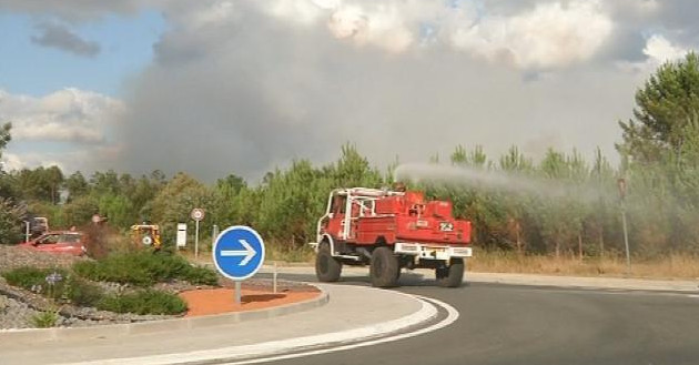 Mobilisation des pompiers pour lutter contre les incendies