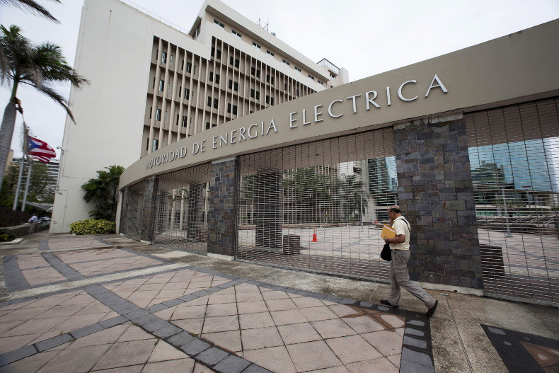 Le siège de la compagnie d'électricité de Porto Rico