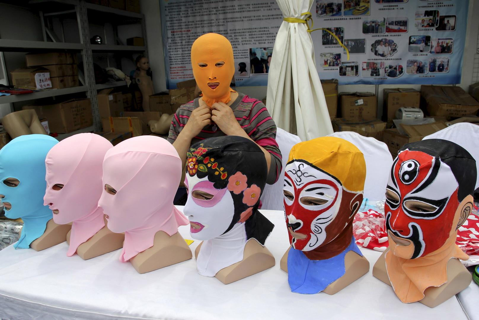 De nombreux modèles de face-kini existent.