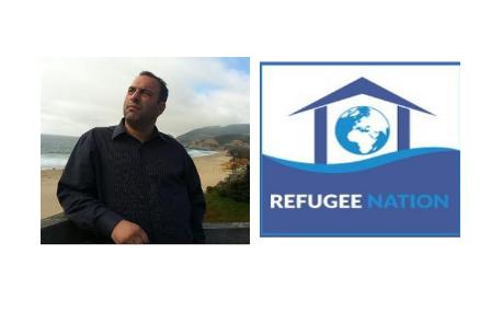 """Jason Buzi, le créateur de """"Refugee Nation""""."""