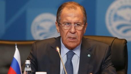 Le Premier ministre russe Sergueï Lavrov