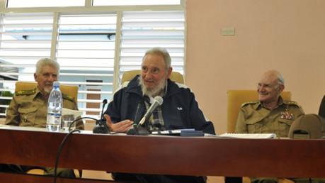 L'ex-dirigeant cubain Fidel Castro