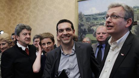 """Mélenchon : """"Les parlementaires français seraient bien inspirés d'imiter ceux de Grèce"""""""