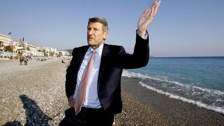 Philippe de Villiers à Nice, le 20 février 2007