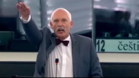 Janusz Korwin-Mikke au Parlement européen