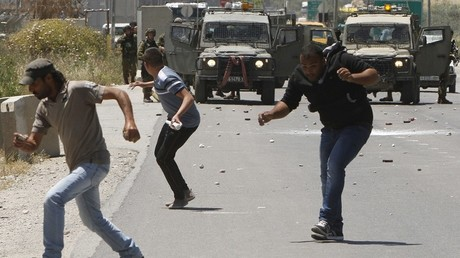 Heurts quotidiens entre l'armée israélienne et des jeunes palestiniens