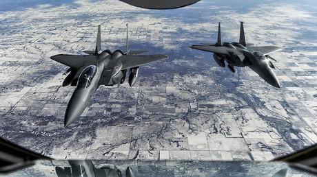 Deux bombardiers F-15E