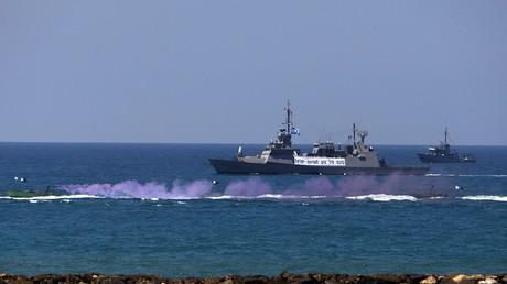 Un bâteau militaire israélien