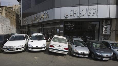Avant les sanctions, Peugeot vendait 450 000 véhicules par an en Iran.