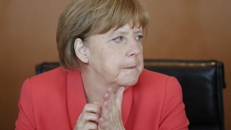 La chancelière allemande a fait pleurer une collégienne palestinienne