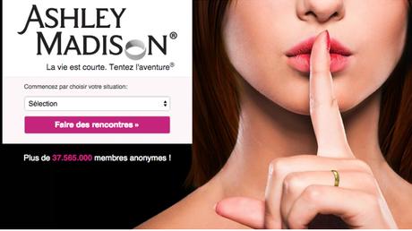 Le site Ashley Madison est piraté