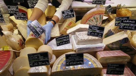 Des fromages italiens traditionnels !