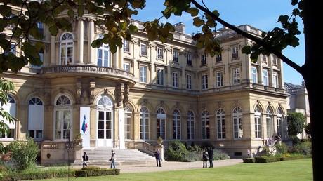L'hôtel du ministre des Affaires étrangères côté jardins, source : wikipedia