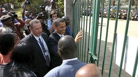 Barack Obama au Kenya en 2006