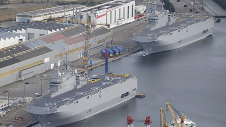 La Russie va récupérer ses équipements à bord des Mistral