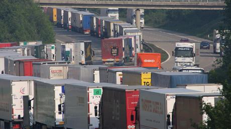 La circulation automobile plus que jamais chaotique dans le Kent