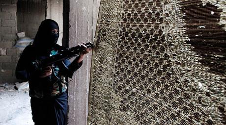 Une combattante de Daesh Leena