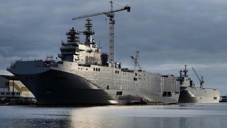 Kremlin : la Russie et la France se sont accordés sur le remboursement des Mistral