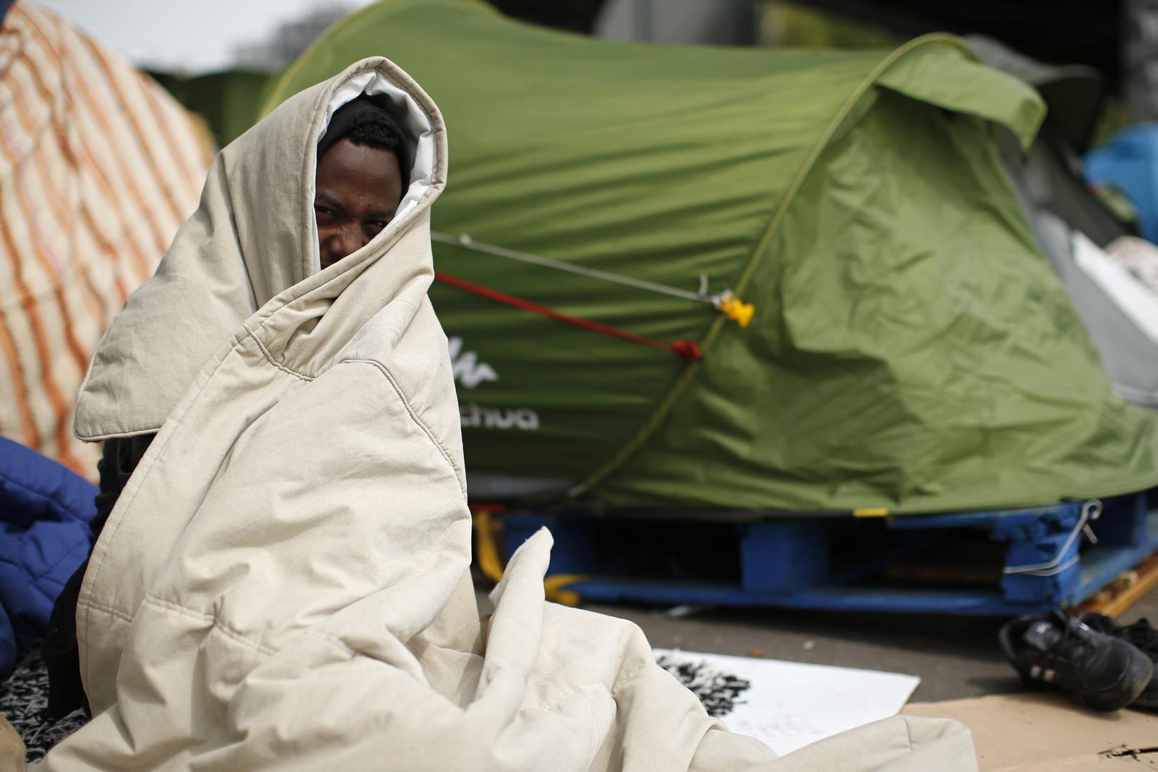 Un migrant érythréen à Paris