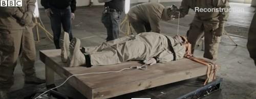 La BBC a reproduit une scène de Waterboarding, une simulation de noyade