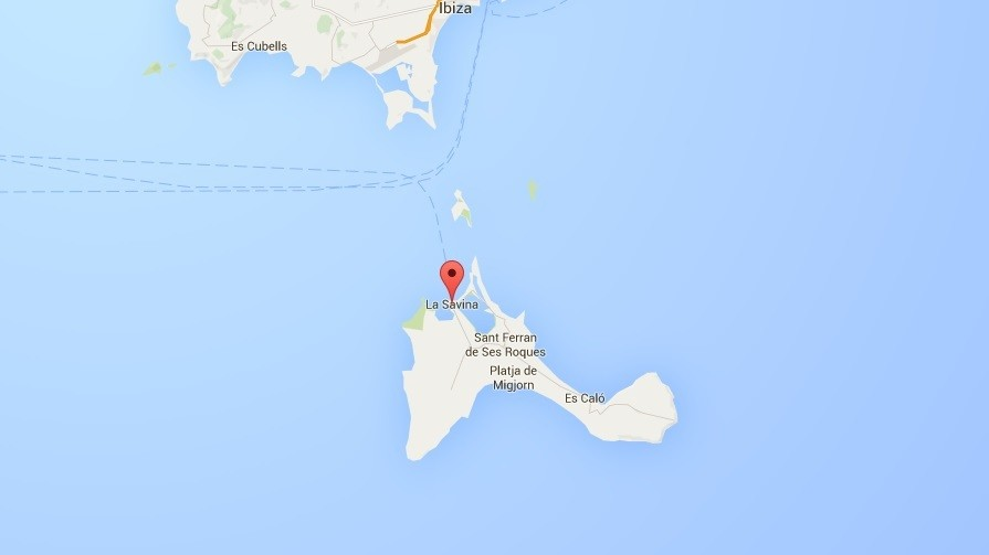 Le lieu où la meilleure plongeuse du monde Natalia Molchanova a disparu