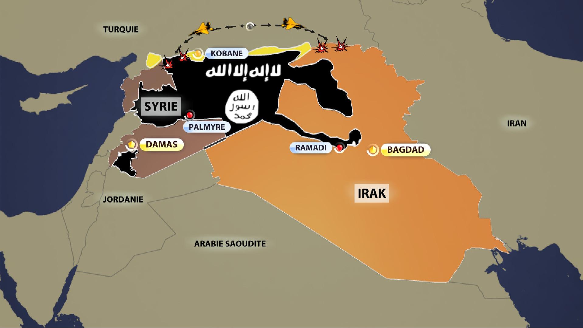 Syrie : les frappes américaines de soutien aux rebelles modérés, un moyen d'abattre el-Assad ?