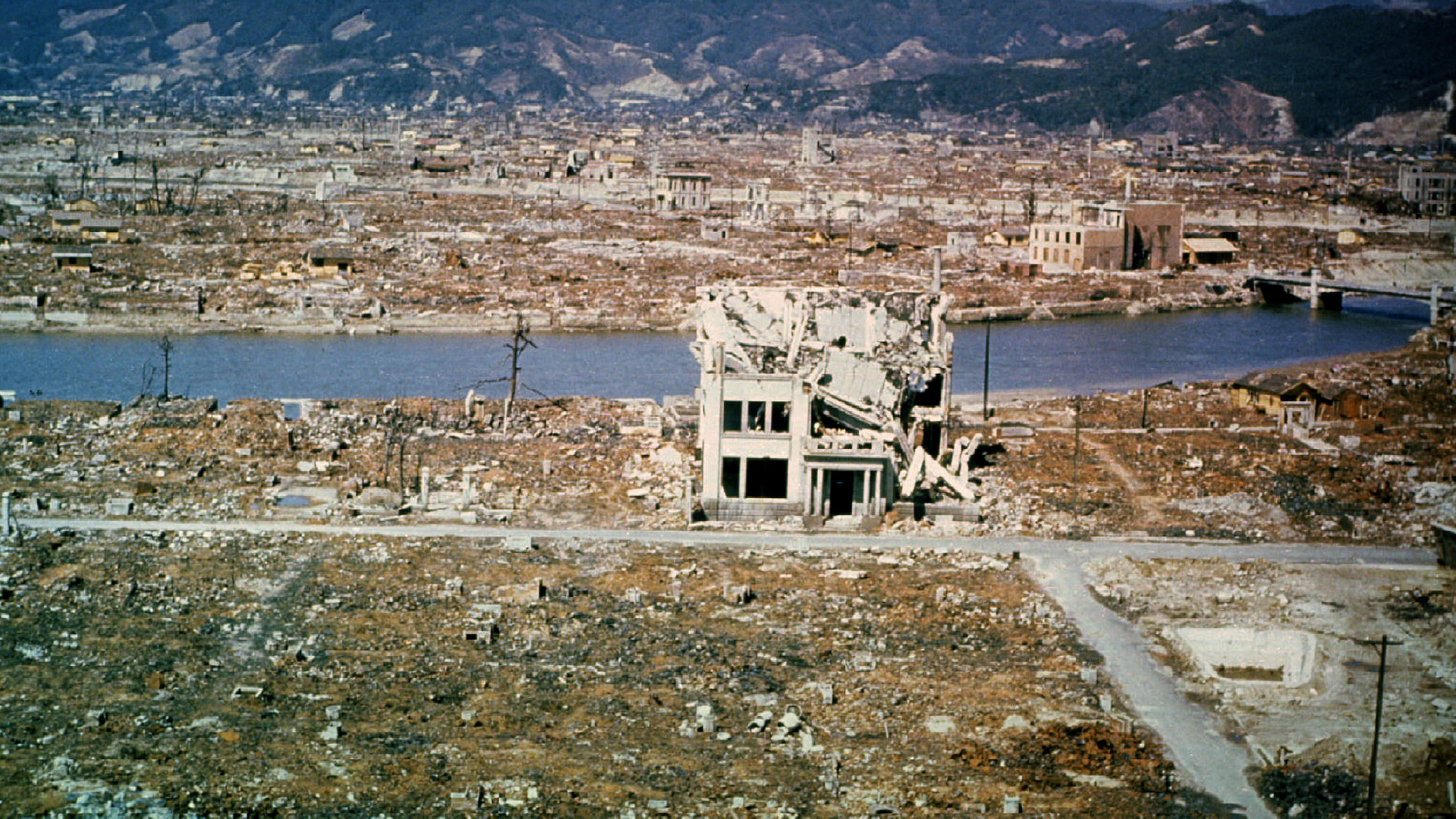 Hiroshima en 1946, six mois après le bombardement