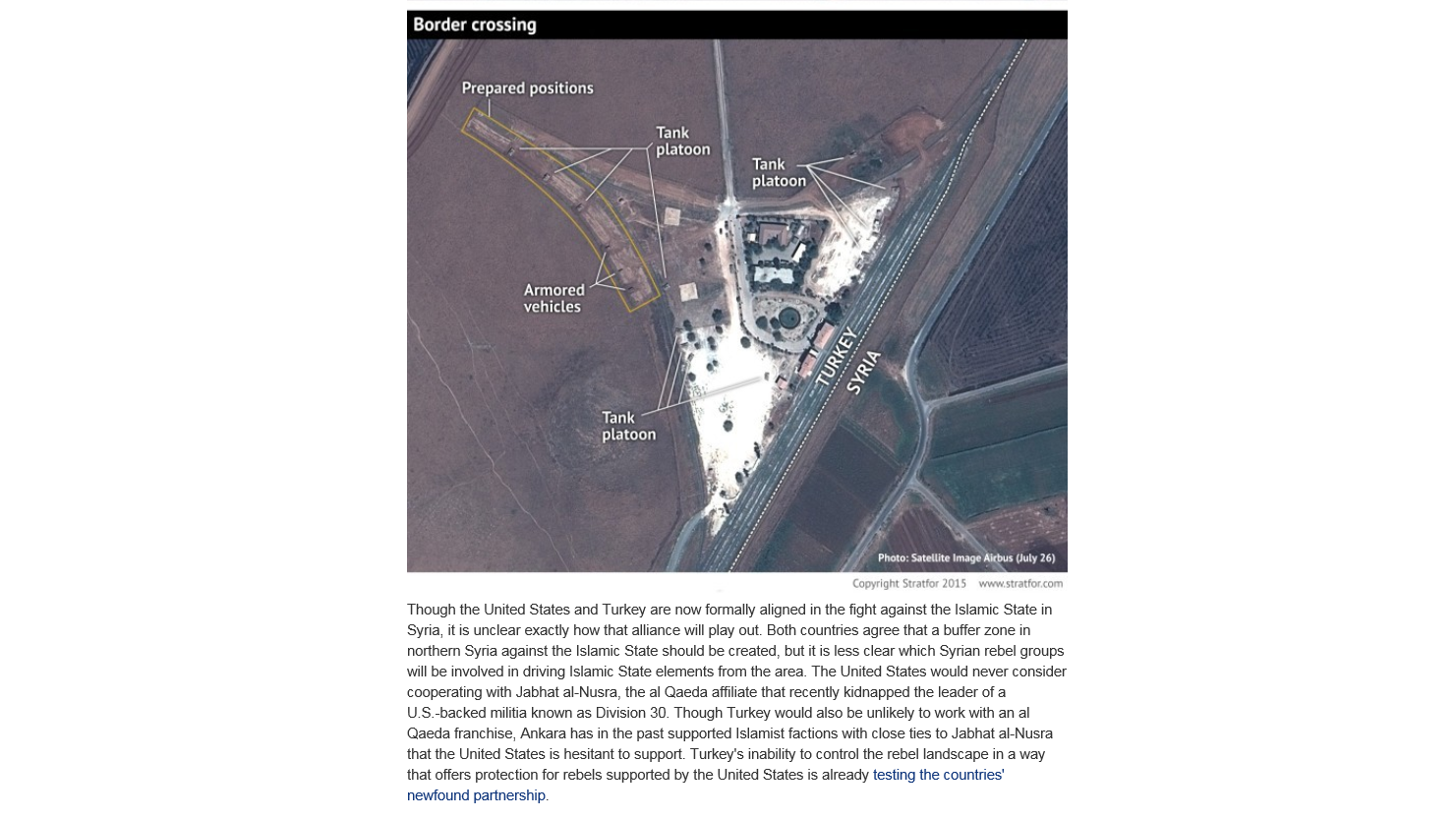 Les Etats-Unis lancent leurs premières frappes aériennes par drones contre Daesh depuis la Turquie