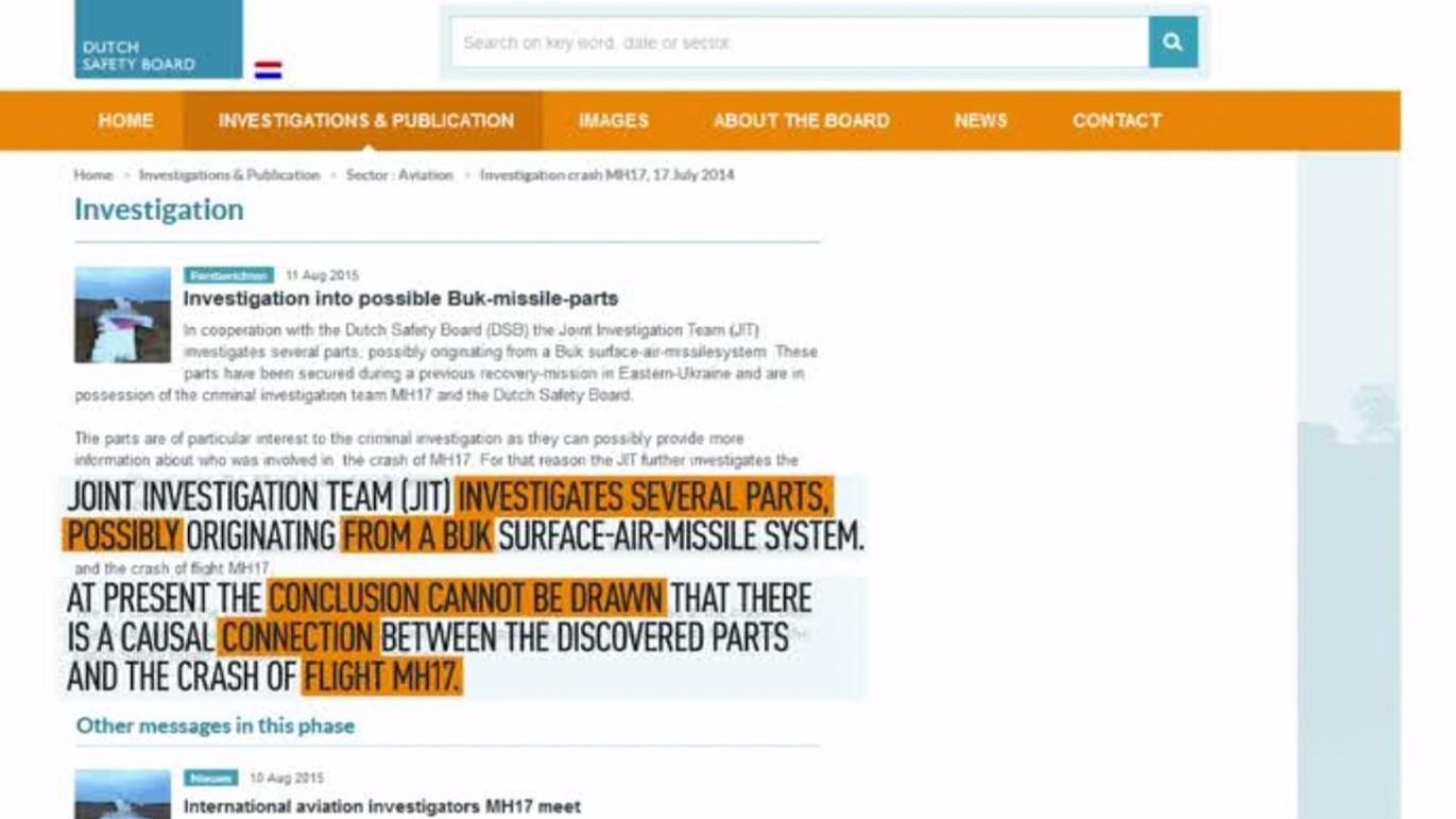 Capture d'écran du site onderzoeksraad.nl