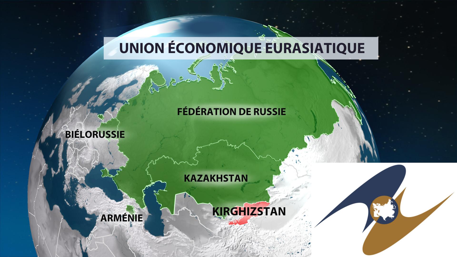 L'Union Economique Eurasiatique s'étend jusqu'au Kirghizistan