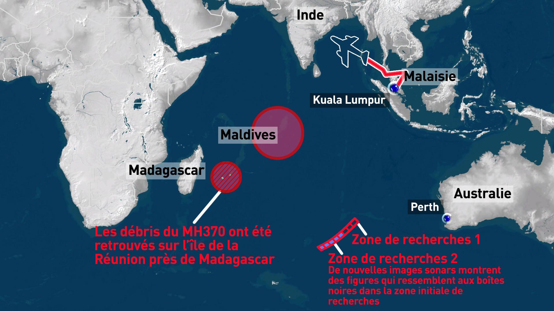De nouveaux débris du MH370 ont probablement été retrouvés