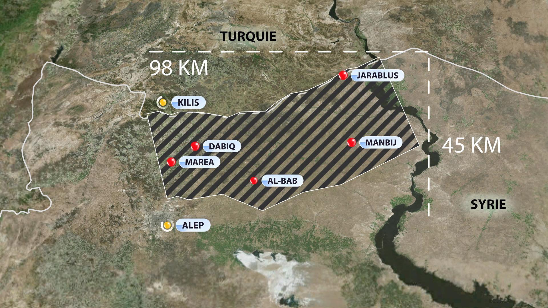 La Turquie et les Etats-Unis s'opposent sur la création d'une zone tampon en Syrie