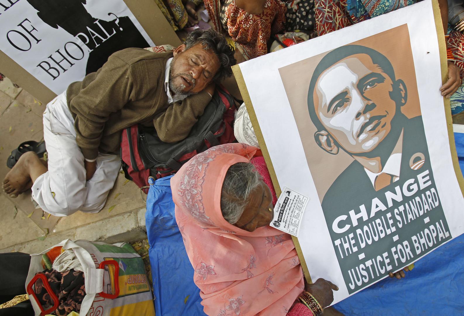 Plus de 30 ans après les faits, les Indiens demandent toujours «justice pour Bhopal»