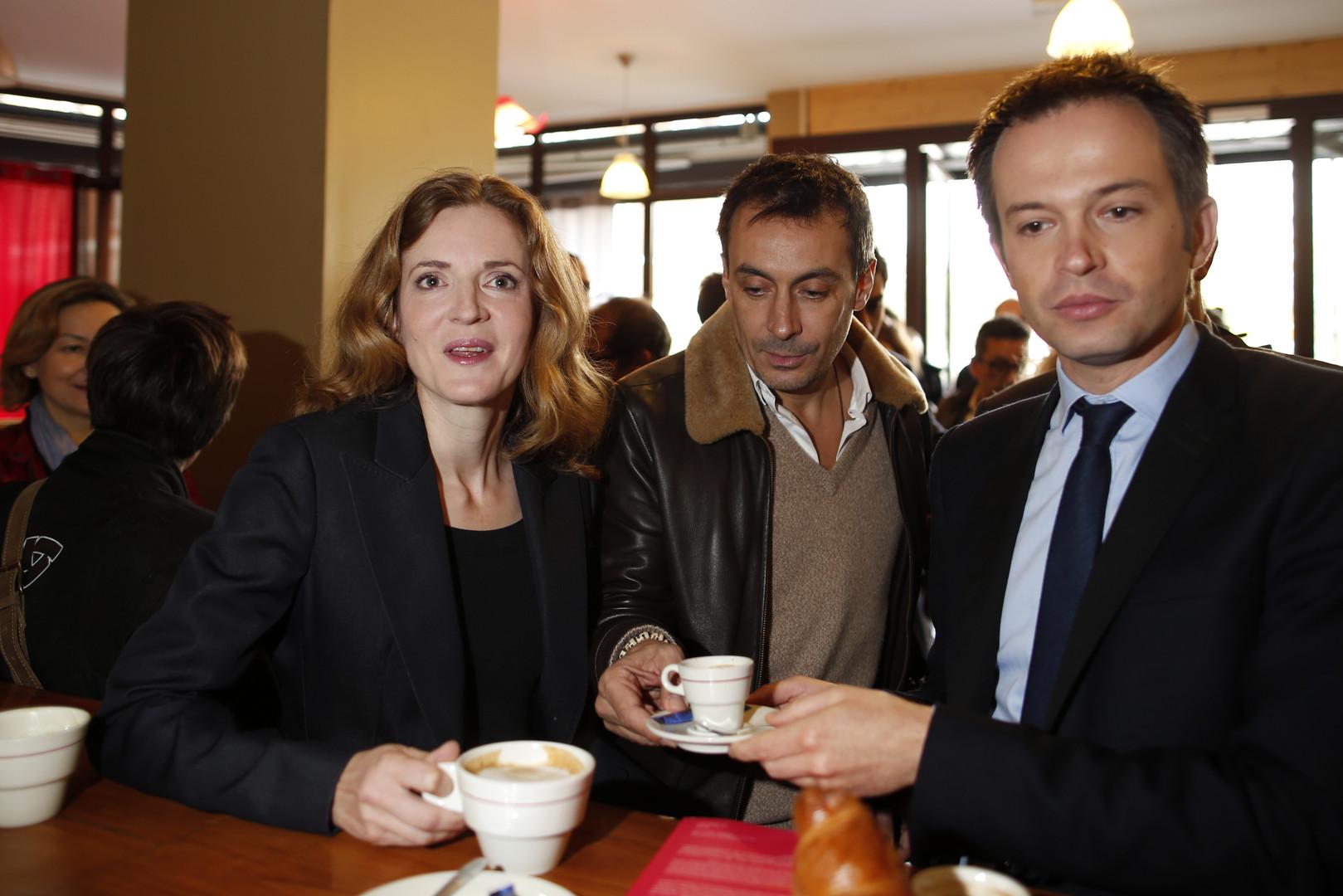 Pierre-Yves Bournazel, ici à droite lors de la campagne de Nathalie Kosciusko-Morizet, prone la création d'une police municipale à Paris.