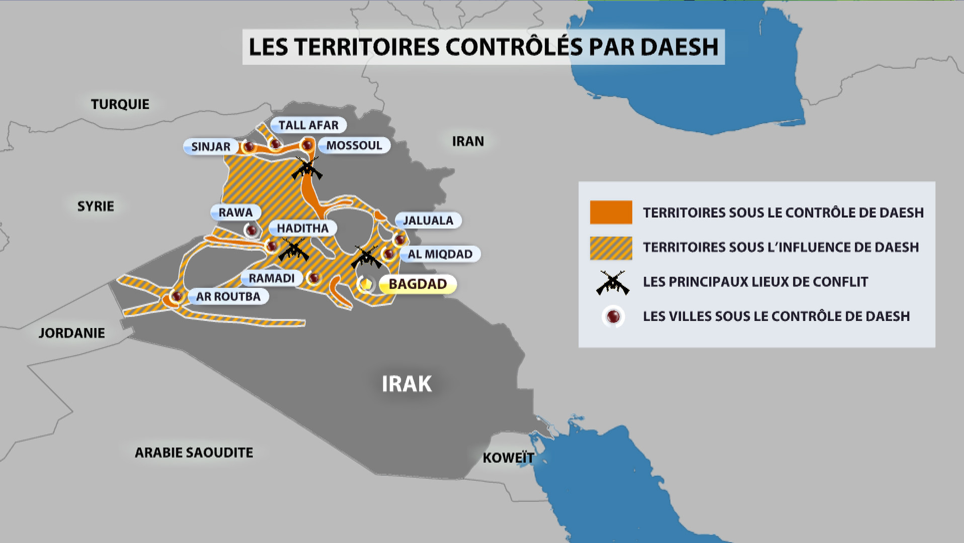 Les militaires irakiens qui ont cédé Ramadi à Daesh passeront devant la justice
