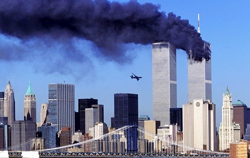 L'attaque du 11 septembre 2001 contre le World Trade Center de New-York