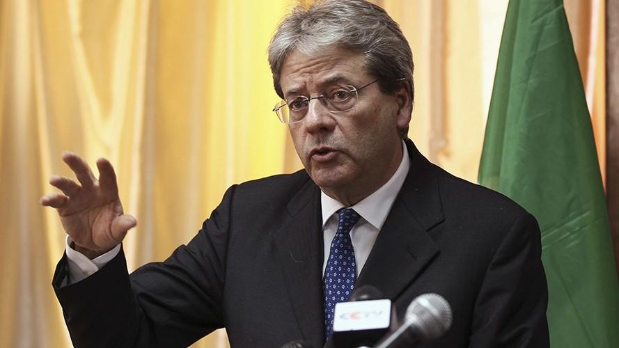PAOLO GENTILONI, Ministre italien des Affaires étrangères