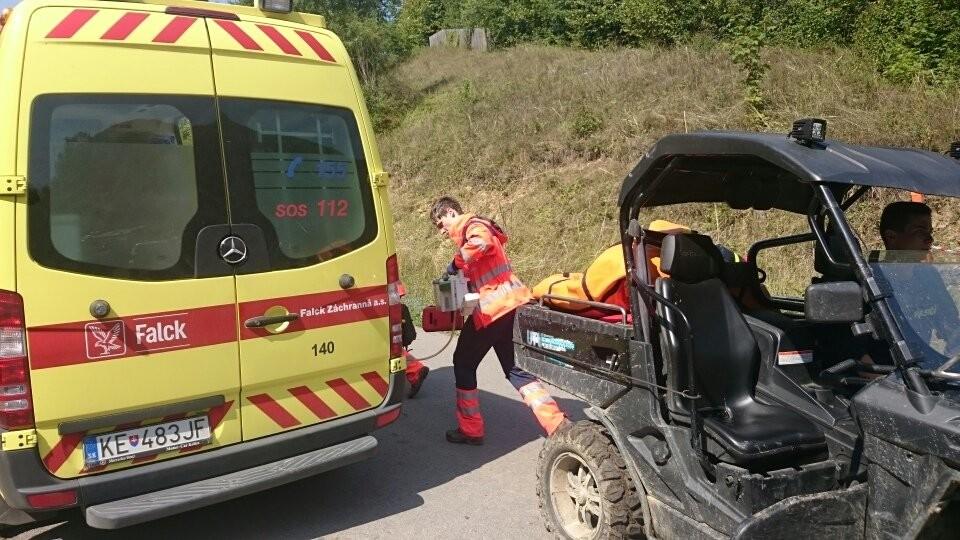 Les services d'urgence sont intervenu en Slovaquie