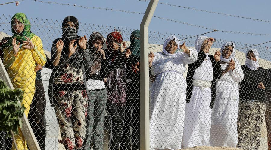 Des réfugiés Yazidis