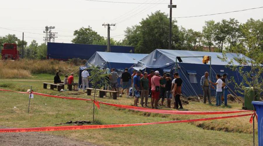 La délégation russo-serbe évalue les conditions dans le camp