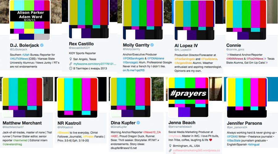 Fusillade en Virginie : les utilisateurs de Twitter changent leurs photos en hommage aux victimes