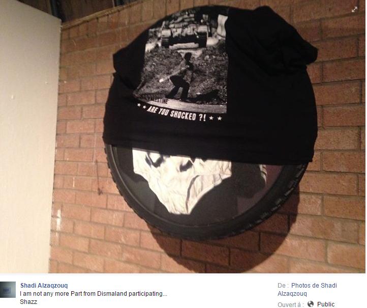 Expulsé de Dismaland, un artiste palestinien choqué par «le retournement de veste» de Banksy
