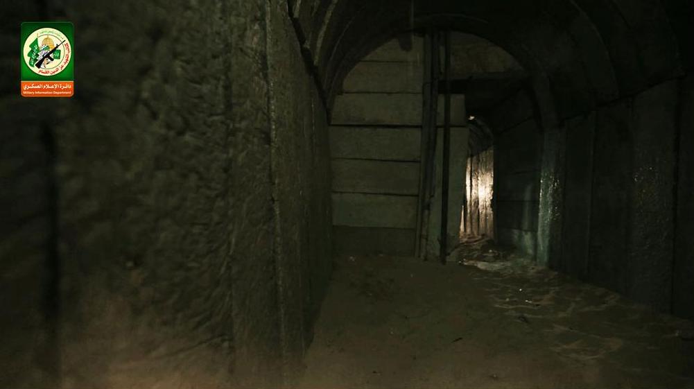 Le réseau de tunnels.
