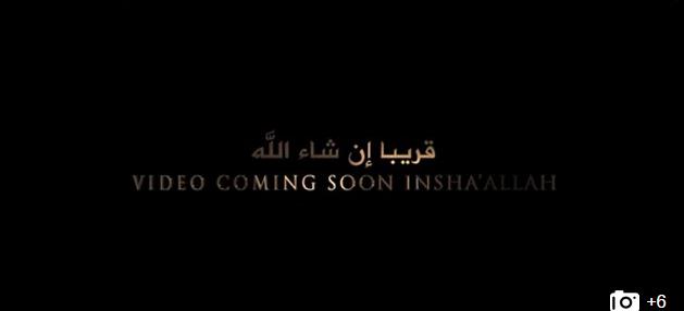 Daesh a publié un trailer d'une nouvelle vidéo à venir.