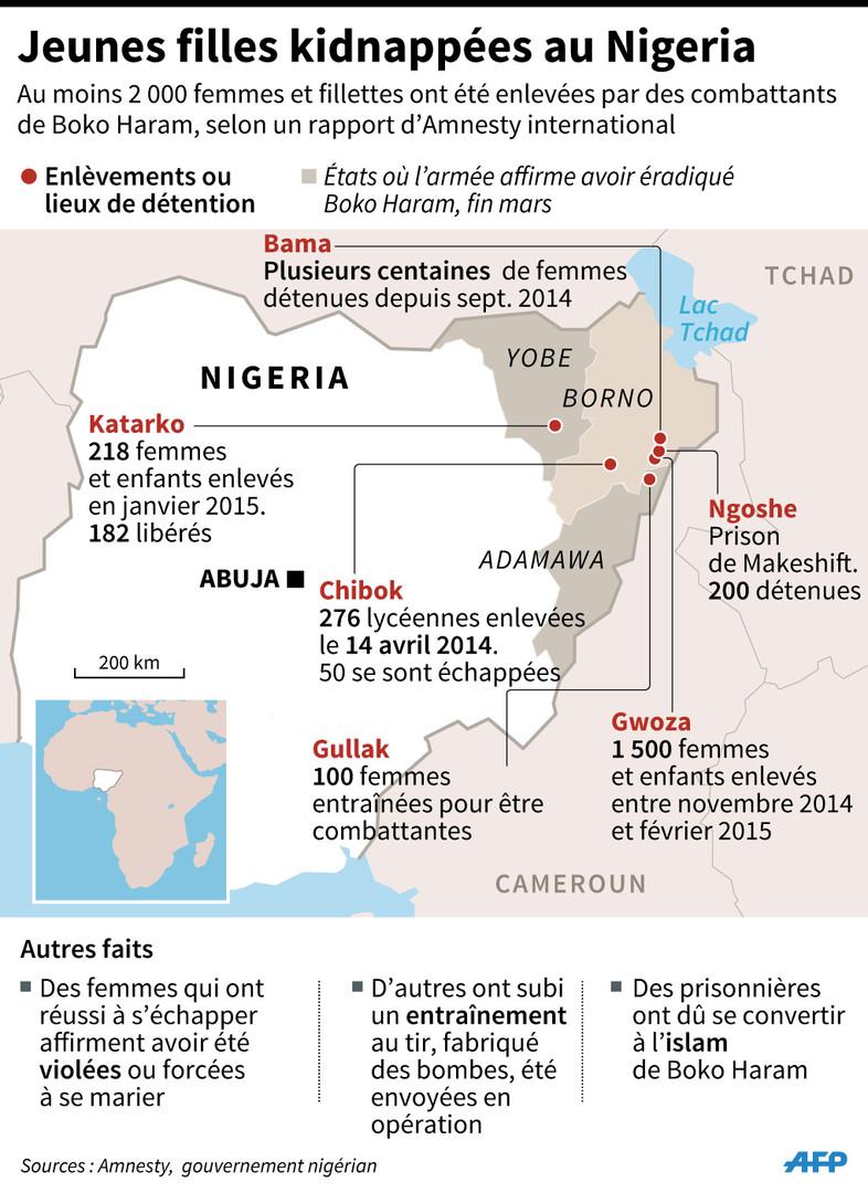 Boko Haram aurait frappé le nord-est du Nigéria, près de 80 victimes
