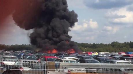 Des membres de la famille Ben Laden périssent dans le crash d'un jet privé en Grande-Bretagne
