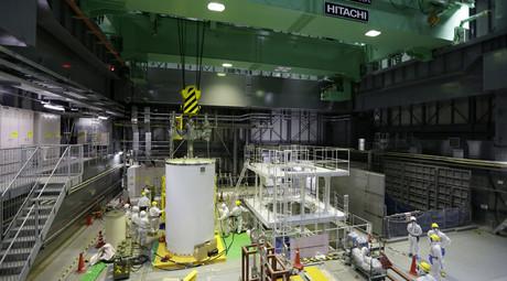 TEPCO a retiré une machine de 20 tonnes du bassin combustible de la centrale de Fukushima